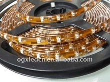 White 60LEDs/m 5m/reel SMD3528 DC12V silicon glue waterproof IP65 led strip lighting