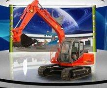 8tons QinGong brand small crawler excavatorHT80B