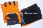Half finger weight lifting fitness gloves