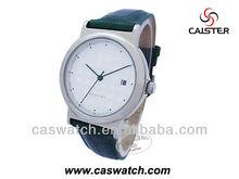 Women Fashion blank dial calendar wrist watch