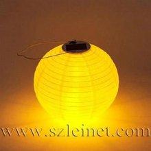 600MAH 0.4W Canvas led solar hurricane lantern