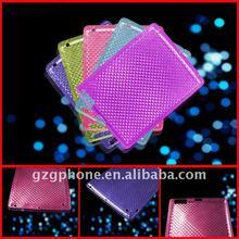 New design diamond grain TPU case back cover for ipad2