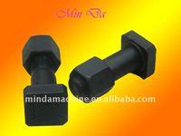 ISO9001:2000 flange/phosphate side cutter segment bolt and nut(Komatsu)