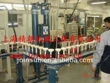 Tubes transmission Stainless steel chain conveyor