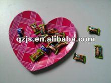 melamine heart plate