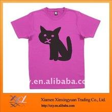 Sun Wear T-shirt Printed A Black Cat
