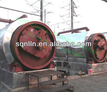 hot sales 12tons scrap tyre and plastic process machine