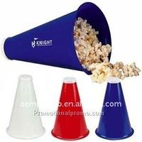 Plastic Popcorn Megaphone, Superfan Megaphone