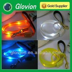 Best sells custom lighter retractable LED light dog leashes