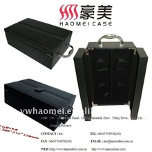 PU leather red wine carrying box