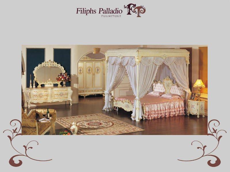 Royal mobili classici- cracking vernice insieme camera da ...