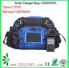1.35W 1800MAH Solar Mobile Phone Charge Shoulder Bag