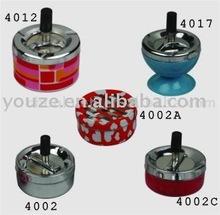 Round tin Ashtray metal ashtray