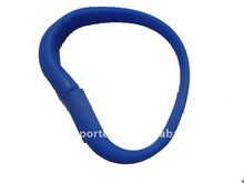 usb flash wristbands/wristband storage device for promotional gift
