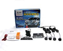Wireless 4 LED Parking Sensor Car Reverse backup kit Indicator Radar System