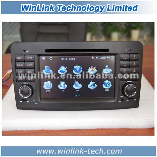 For Mercedes-Benz R class W251 (R280 R320 R350 R500) Car DVD GPS With TMC