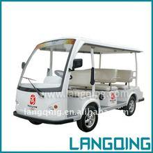 8 seat comfortable Electric Tourist Car
