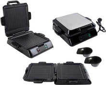 Detachable Contact Grill, Panini grill