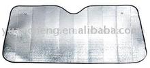 Silver PE foam car front sunshade