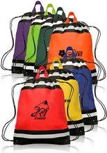 Non-Woven Reflective Sports Drawstring bag
