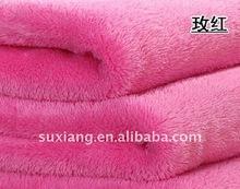 Polyester Shu Velveteen Blanket