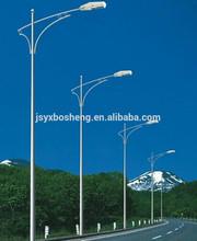 outdoor street light steel pole