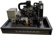 Open style generator with Yanmar engine for 50/60Hz