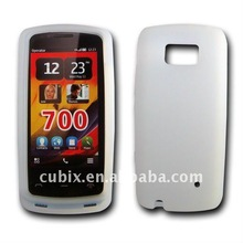 CUBIX Silicone GEL Skin Case for Nokia 700