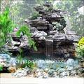 rocalla artificial saltos de agua para el jardín