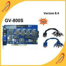 Tarjeta dvr, Tarjeta gv, Gv800 con V8.3 software versión