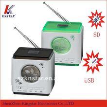 portable speaker usb radio with fm