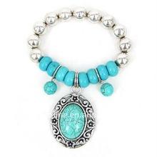 Fashion Design Turquoise Bead African Handmade Bracelet