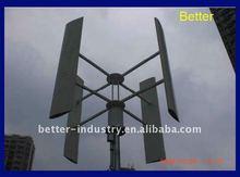 50w/100w/200w eje vertical del viento generador de turbina