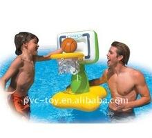 inflatable basketball goal posts for pool fun