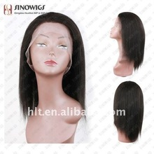 invisible part wig remy human hair