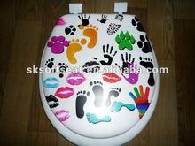 Customer Decorative Toilet Seat Cover