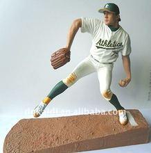 plastic baseball figurines sport player