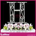 حرف h أفضل نوعية الكريستال حجر الراين كعكة لعيد ميلاد ممتاز/ حفل زواج