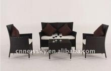 Outdoor rattan furniture 2012 new design KD sofa set