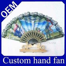 Personalized Hand Fan Plastic Lace Fan