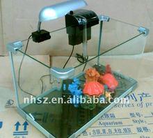 Rectangle Standard Mini Rimless Glass Tank Only Nature Aquarium Goods