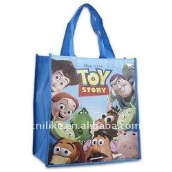 laminated shopping non woven tote bag