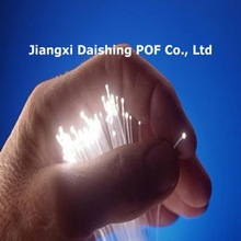 End glow, Flexible and pure color, PMMA plastic optic fiber lighting