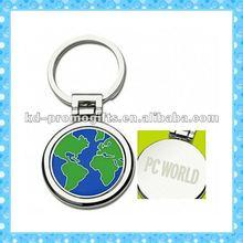 DKMK0276 lovely Voyager Globe promotional engraved logo Key chain