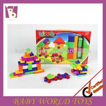 Intelligence plastic building block educational bricks 200pcs