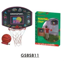 Basketball backboard with hoop net GSBSB11