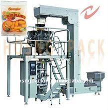 potato chips sealing machine