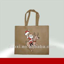 Recycle hot transfer non woven bag for shopping