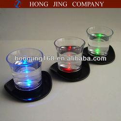 led top hat Shot Glass