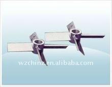 Four slanting blade Open Turbine Type /agitator/mixer/blender